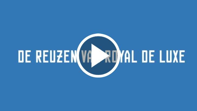 filmpje van de Reuzen van Royal de Luxe